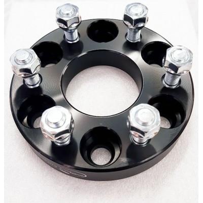 Ratų išnešimo adapteris Nissan Pathinder  6x114.3 | 25mm | 66.1 | Black serija