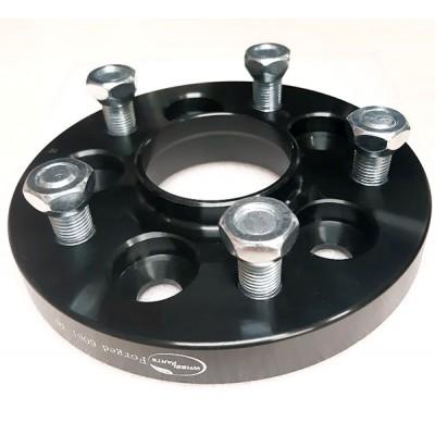 PCD keitimo adapteris iš 5x108(auto) į 5x120(ratlankis) | 20mm | 67.1/65.1 | Black serija