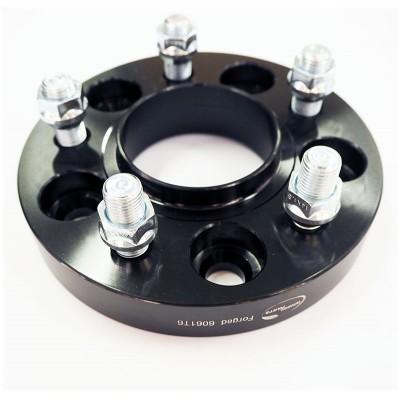 Ratų išnešimo adapteris Ford, Volvo  5x108 | 25mm | 63.4 | Black serija | 12x1.5