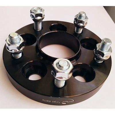 PCD keitimo adapteris iš 5x100(auto) į 5x114.3(ratlankis) | 20mm | 60.1 | Black serija
