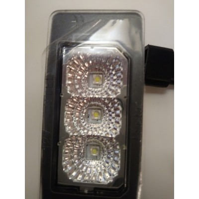 LED numerio apšvietimo lempos, skaidrios | BMW  | 3xCree high power Led | 2vnt