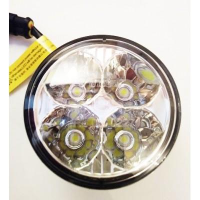 LED dienos žibintai universalūs | 70mm | 4W | 12V