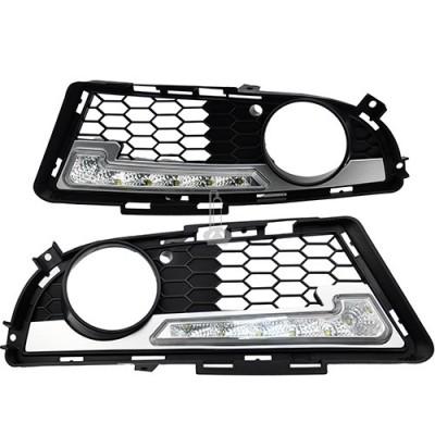 LED(Cree) dienos žibintai E90, E91 09-12 | BMW M-tech | 2x6W | 2vnt