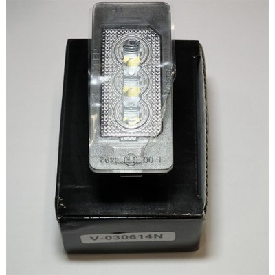 VW led numerio lempute