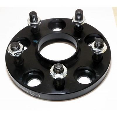 Ratų išnešimo adapteris Toyota, Honda, Chrysler,..  5x114.3   15mm   71.5/60.1   Black serija