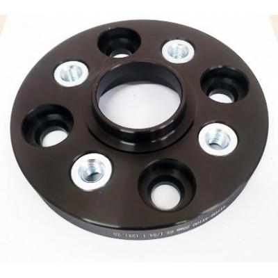 PCD nomaiņas adapteri 4x108(auto)-4x100(disk) | 20mm  | 65.1/54.1 | Melnā sērija