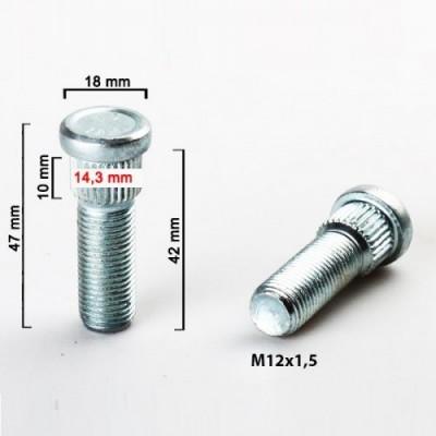 Rato smeigė 12x1.5 | 42mm | d14.3 | oem3714.28