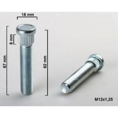 Rato smeigė 12x1.5 | 62mm | d14.3