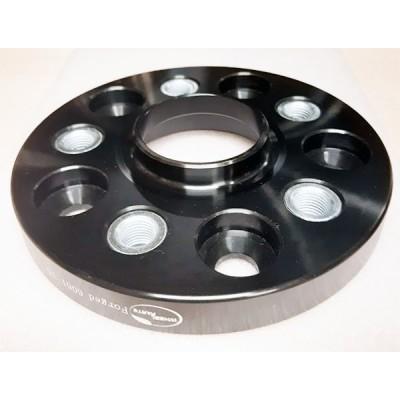 PCD keitimo adapteris iš 5x120(auto) į 5x114.3(ratlankis) | 20mm | 74.1/60.1 | Black serija