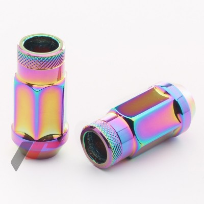 Tiuninginės veržlės NEO 12x1.25 45mm | 23mm | H19 | kompl